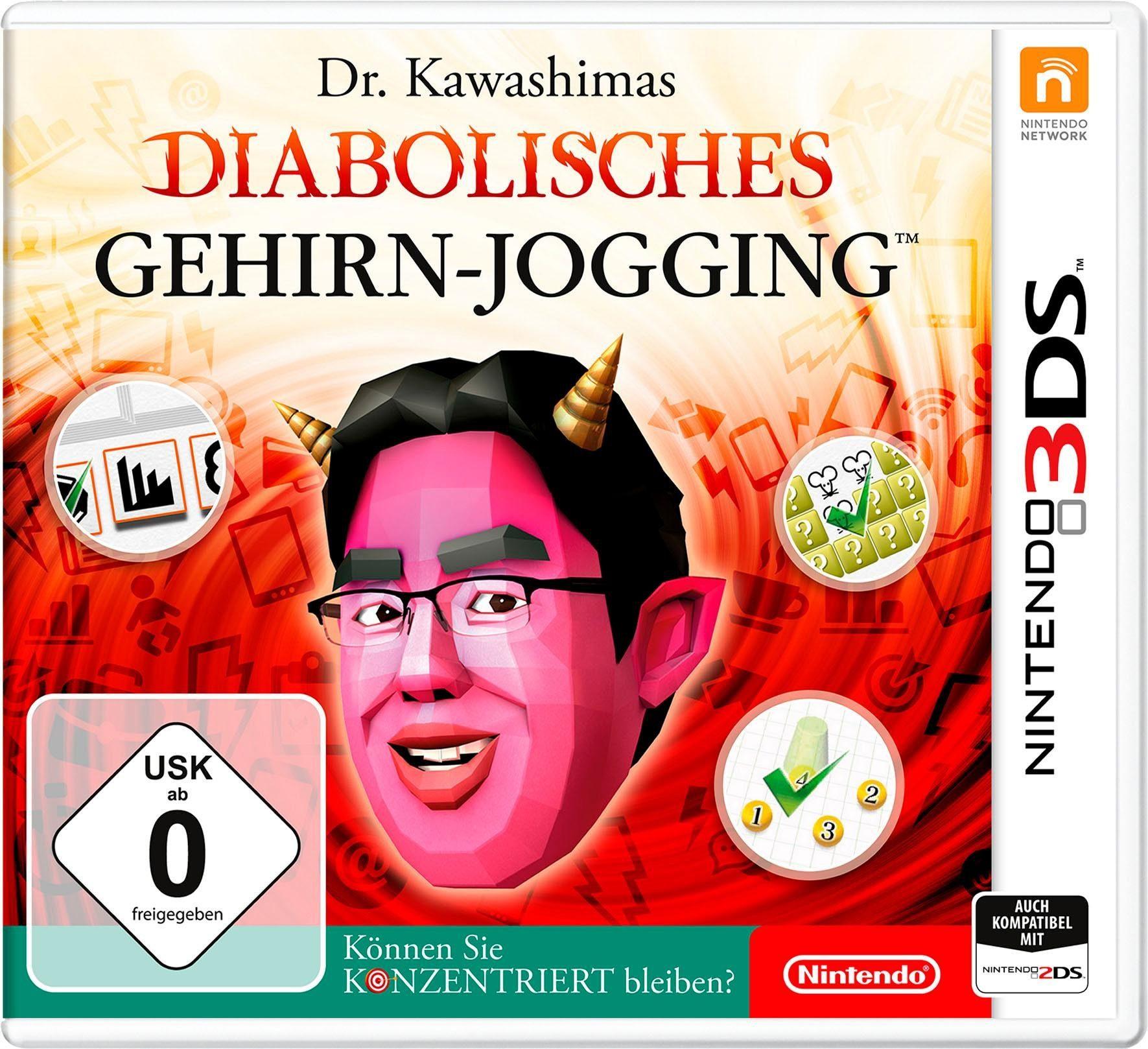 Dr.Kawashimas diabolisches Gehirn-Jogging: Können Sie konzentriert bleiben? Nintendo 3DS