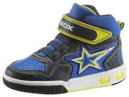 Geox Kids Sneaker, mit cooler Blinkfunktion