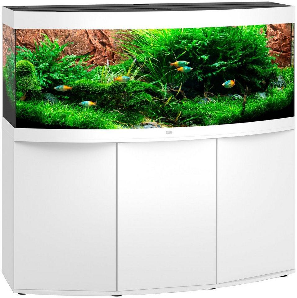 juwel aquarien aquarien set vision 450 led sbx vision 450 bxtxh 151x61x144 cm 450 l. Black Bedroom Furniture Sets. Home Design Ideas