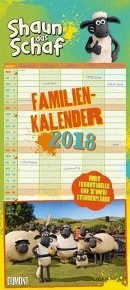 Kalender »Shaun das Schaf Familienkalender 2018«