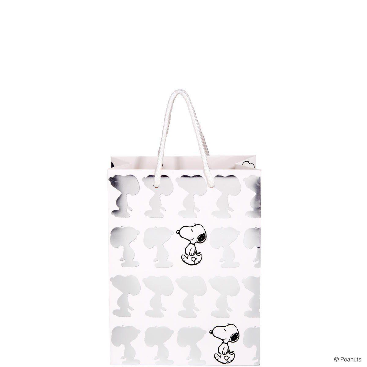 BUTLERS PEANUTS »Geschenktasche shiny Snoopy klein«