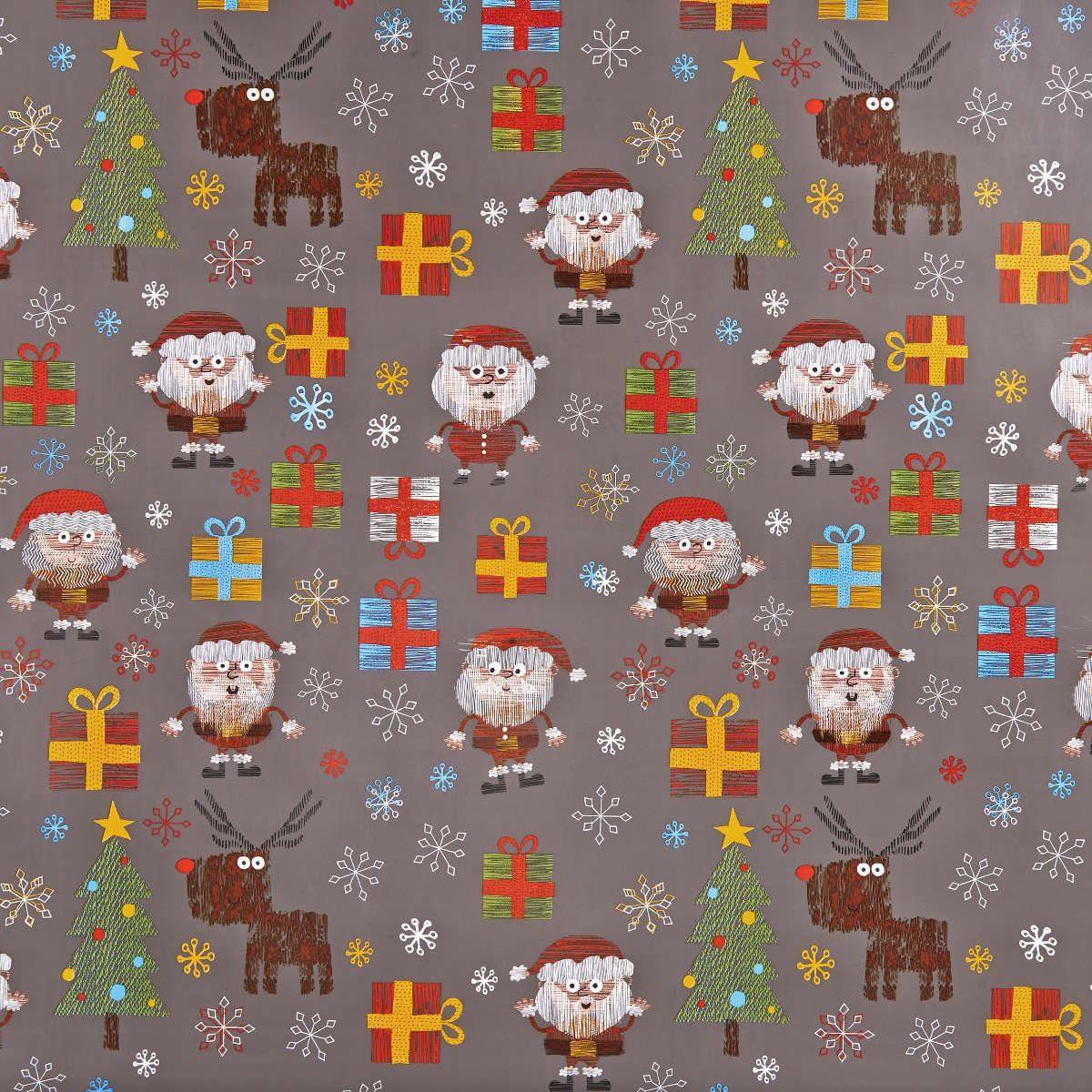 BUTLERS SURPRISE »Geschenkpapier Santa gezeichnet«