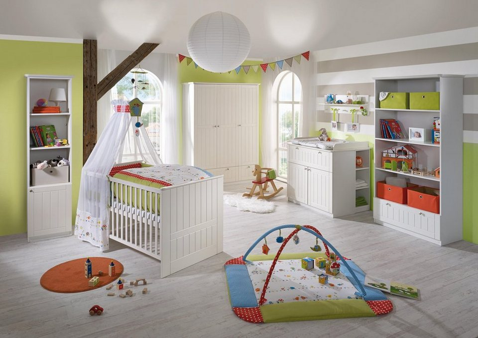 roba babyzimmer set 3 tlg kinderzimmer dreamworld 3 3. Black Bedroom Furniture Sets. Home Design Ideas