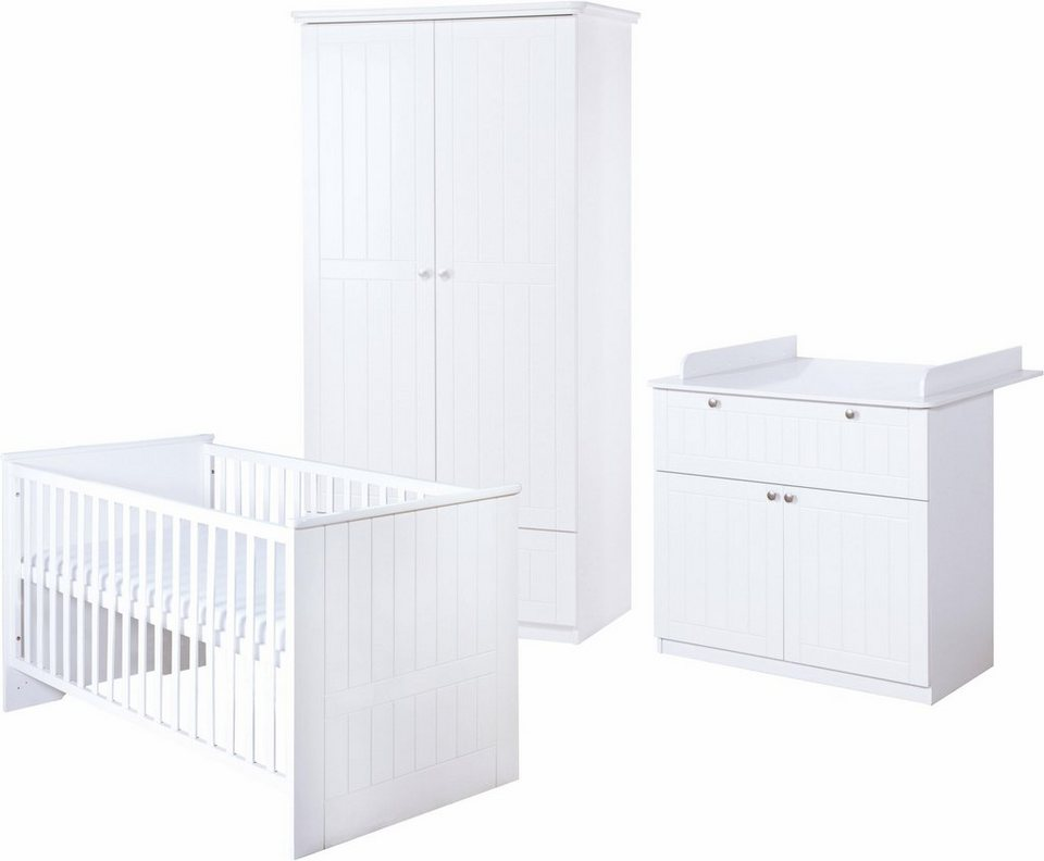 roba babyzimmer set 3 tlg kinderzimmer dreamworld 3 2. Black Bedroom Furniture Sets. Home Design Ideas