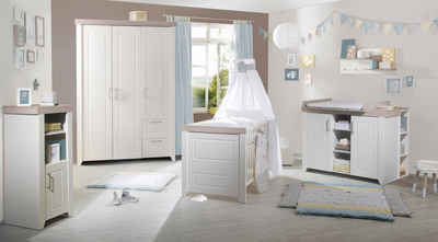 Roba Babyzimmer Set (3 Tlg) Kinderzimmer »Felicia«