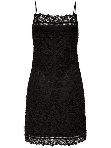 Only Häkeldetail- Kleid ohne Ärmel