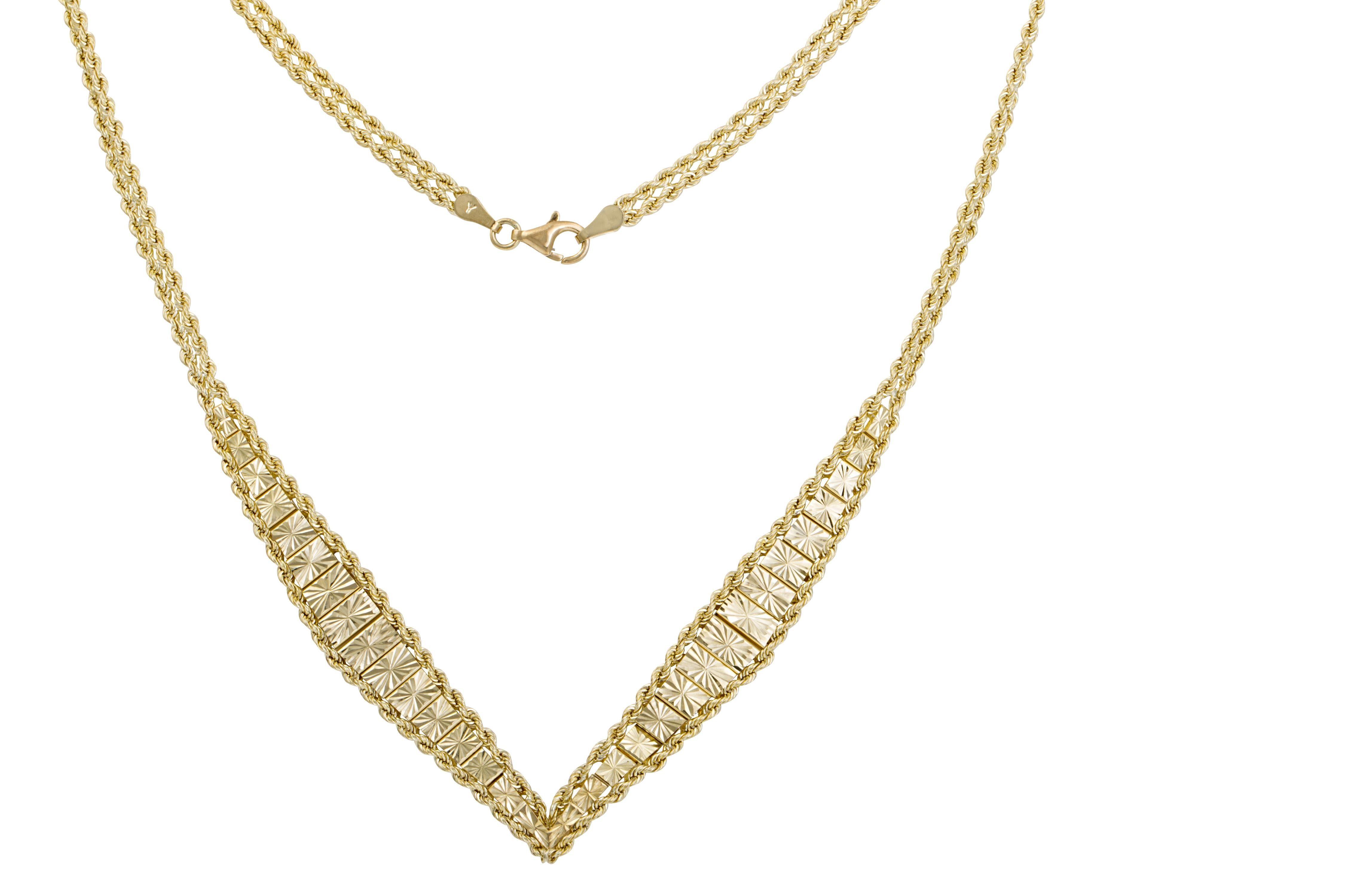 Firetti Collier »Goldkette«, mit Doppelverlauf