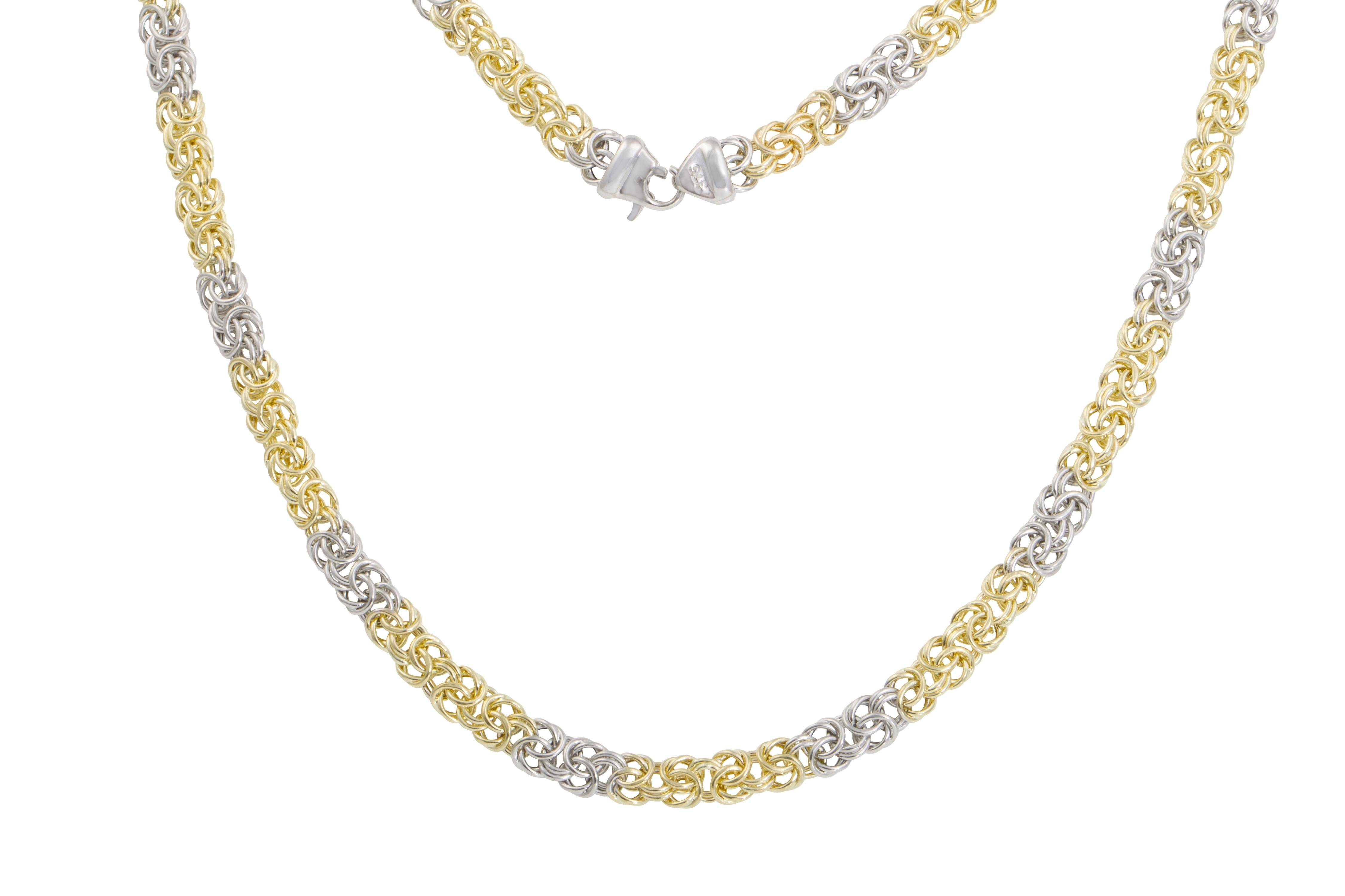 Firetti Goldkette »in Königskettengliederung«