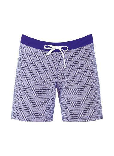 TRIGEMA Shorts Blümchenmuster