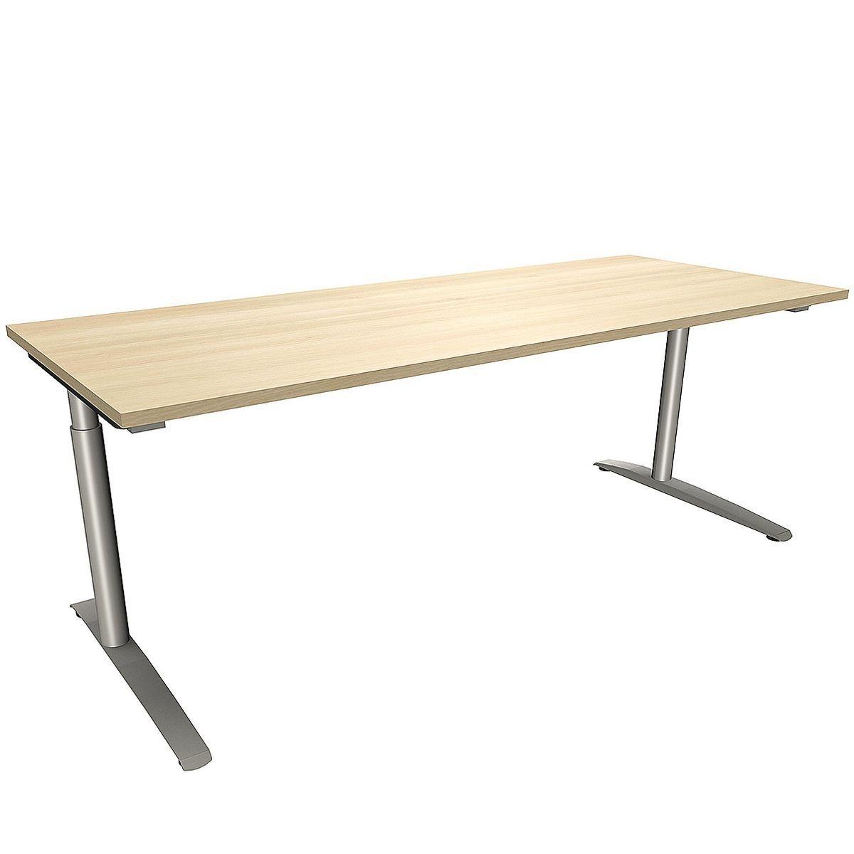 FMBUEROMOEBEL Schreibtisch 200 cm C-Fuß »Fastline« | Büro > Bürotische > Schreibtische | FMBUEROMOEBEL