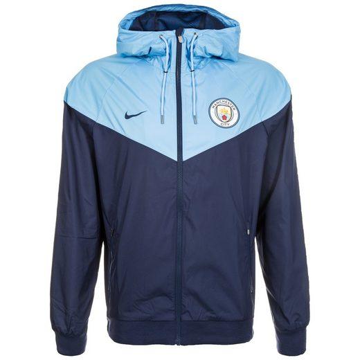 Nike Hooded Fleecejacke Manchester City Windrunner