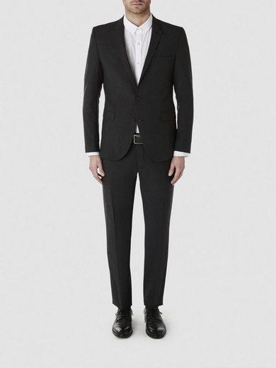 Selected Homme Slim Fit - Anzughose mit schrägen Seitentaschen