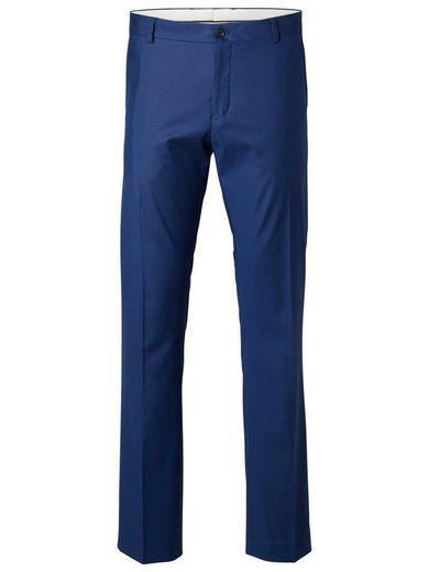 Selected Homme Slim Fit - Anzughose mit Reißverschluss und Knöpfen