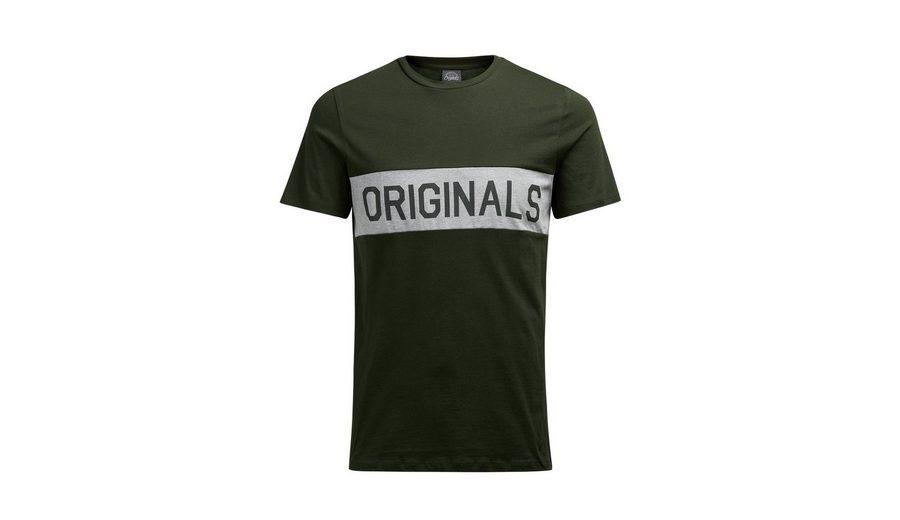 Jack & Jones Freizeit-T-Shirt in schmaler Passform