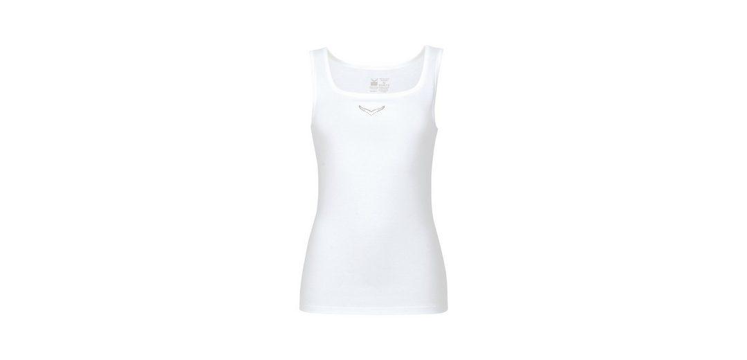TRIGEMA Trägershirt mit Swarovski® Kristallen Heißen Verkauf Zum Verkauf WydlvY