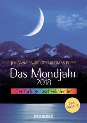 Kalender »Das Mondjahr 2018. Der farbige Taschenkalender«