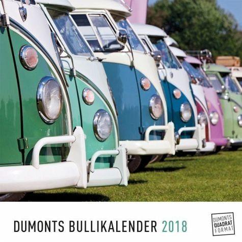 Kalender »DuMonts Bulli-Kalender 2018«