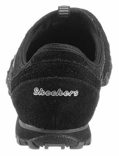 Skechers Bikers Hot-Ticket Slipper, mit modischen Kontrast-Details