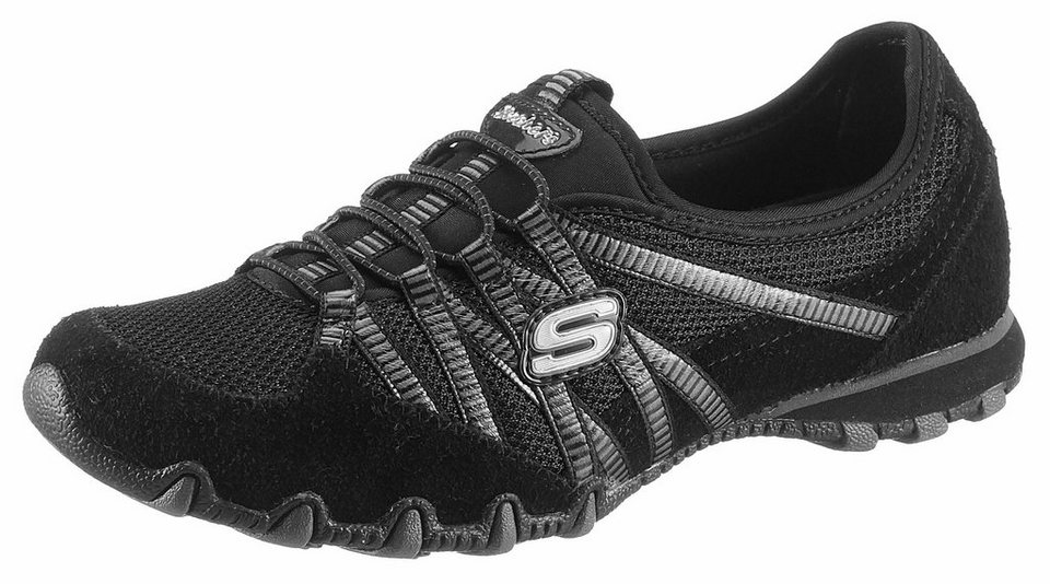 skechers bikers hot ticket slipper mit modischen. Black Bedroom Furniture Sets. Home Design Ideas
