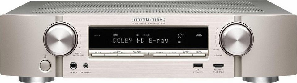 marantz nr1508 5 2 kanal av receiver hi res 3d spotify. Black Bedroom Furniture Sets. Home Design Ideas