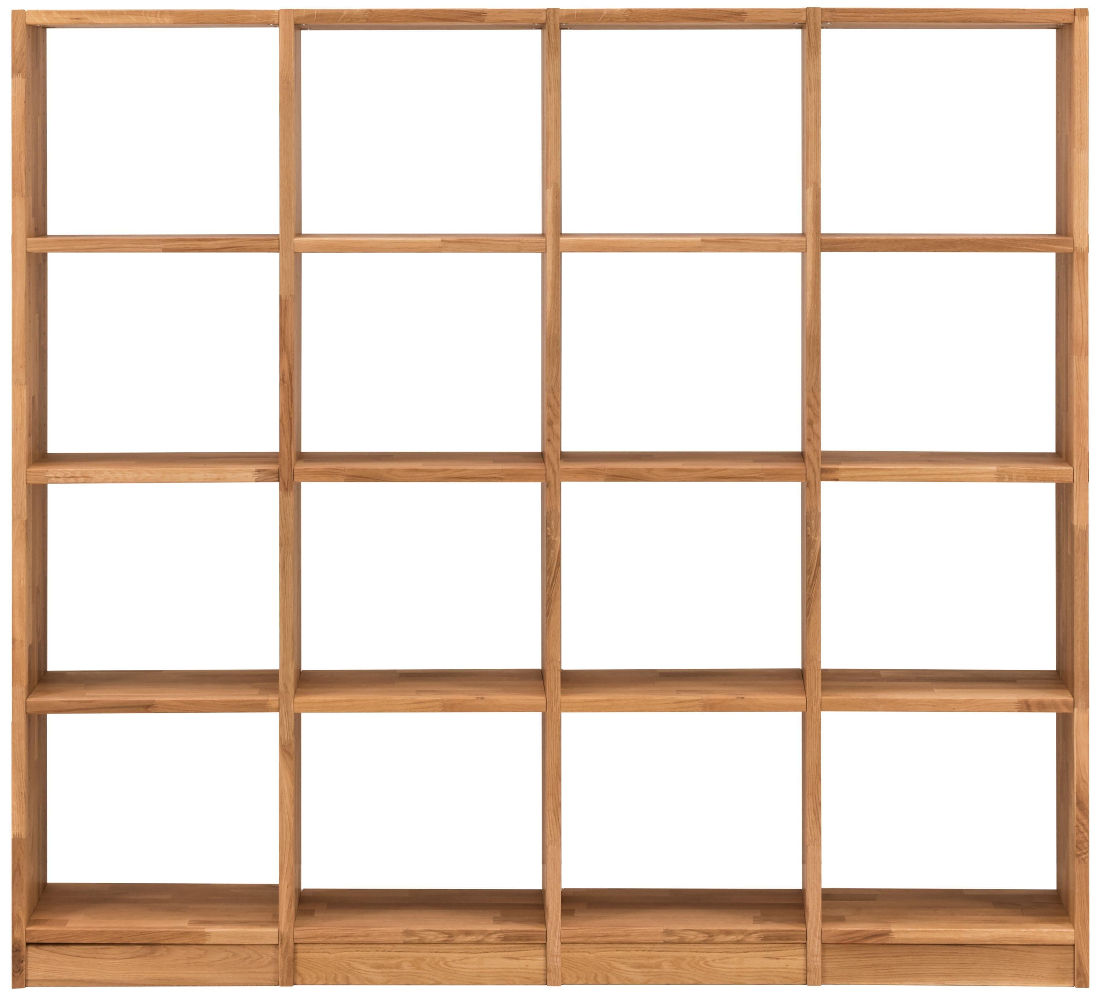 Premium collection by Home affaire Regalelement »Ecko«, Breite 180,5 cm, mit 16 Fächern