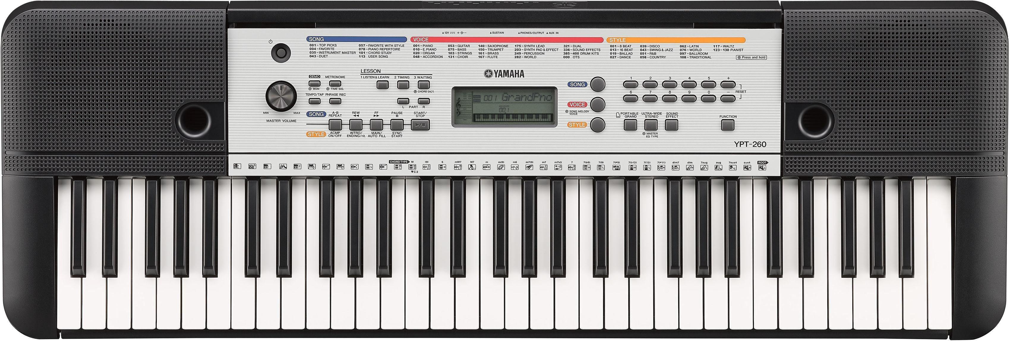Yamaha Digital Keyboard, »YPT-260«