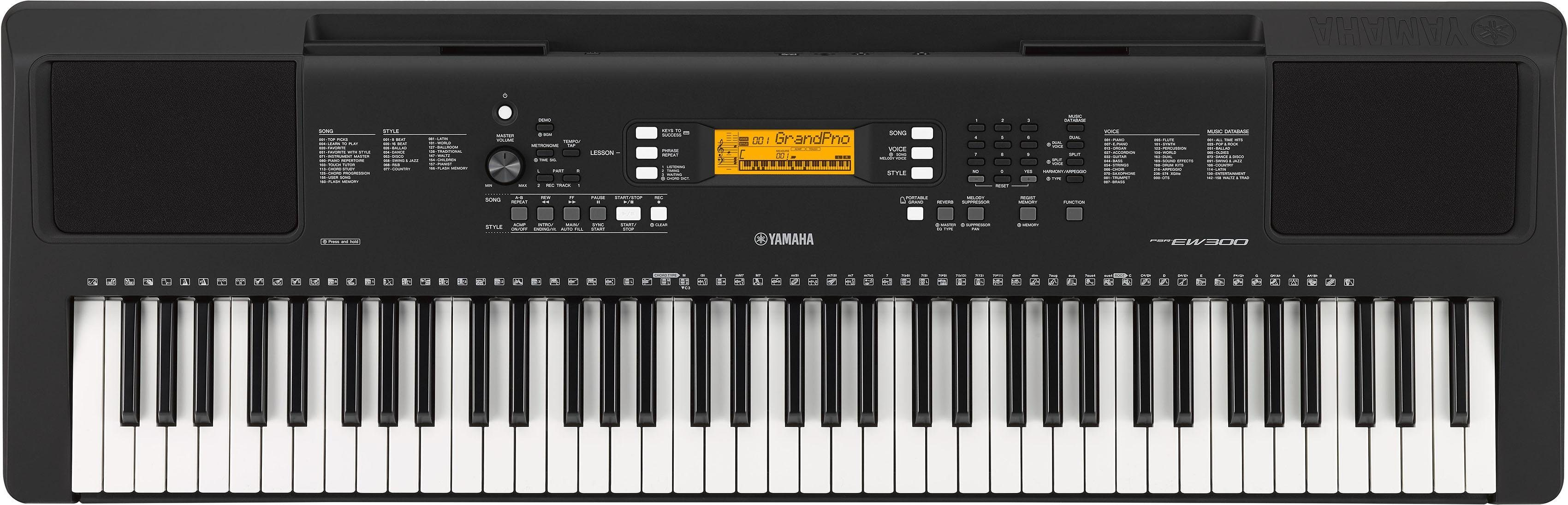Yamaha Digital Keyboard, »PSR-EW300«