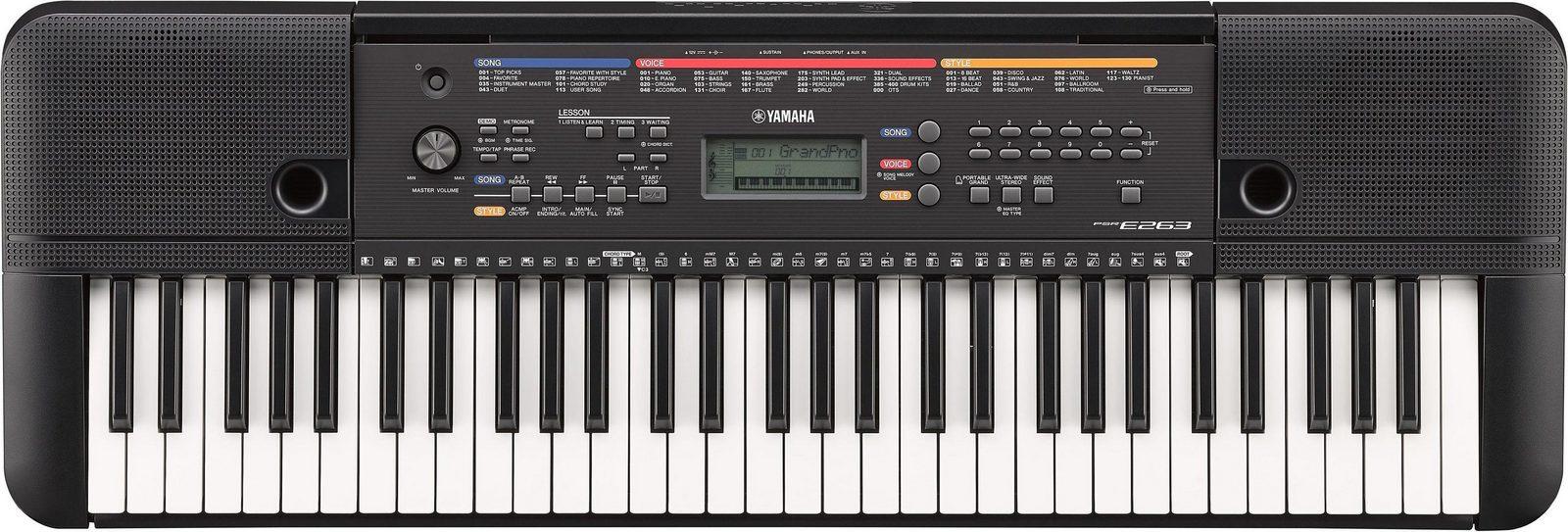 Yamaha Digital Keyboard, »PSR-E263«