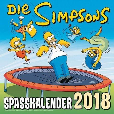 Kalender »Simpsons Wandkalender 2018«