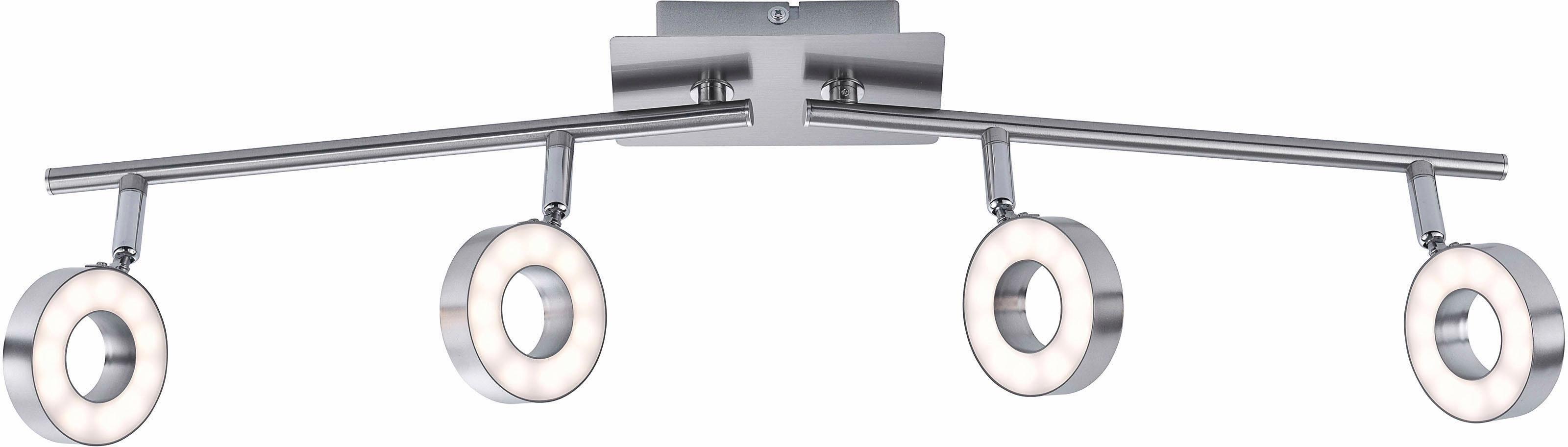 Leuchten Direkt LED Deckenleuchte »LUKAS«, 4-flammig