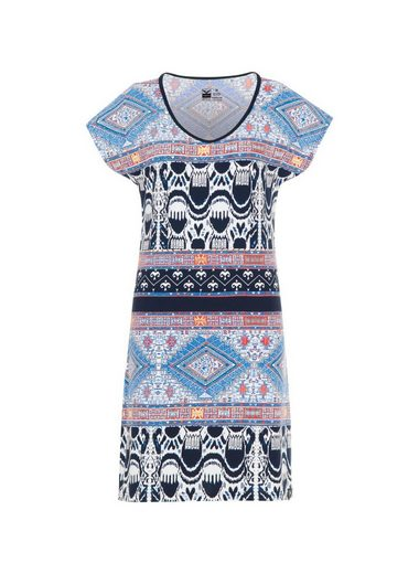 TRIGEMA Knielanges Kleid Ethno-Style