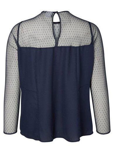 JUNAROSE Peplum- Bluse