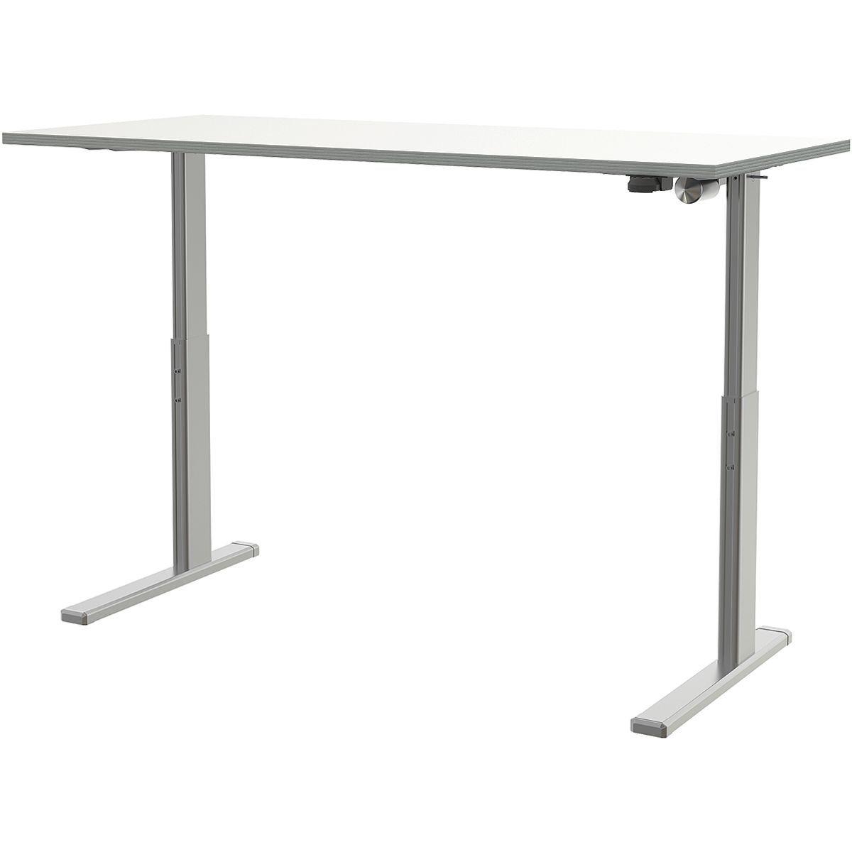 Wellemöbel Schreibtisch höhenverstellbar (elektrisch) 120 cm »Alto« | Büro > Bürotische > Schreibtische | Abs | Wellemöbel