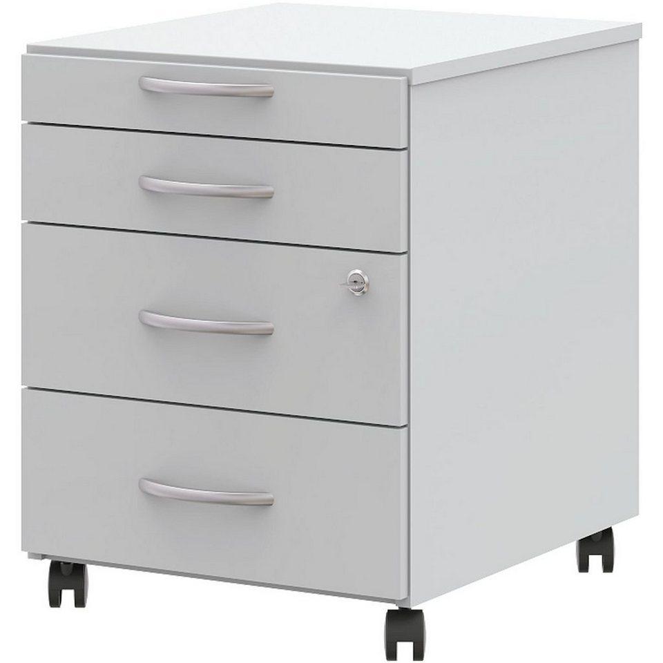 wellem bel rollcontainer mit 3 klassischen schubladen easy up online kaufen otto. Black Bedroom Furniture Sets. Home Design Ideas