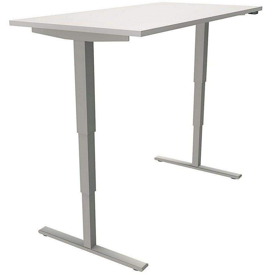 Fmbueromoebel Elektrisch Höhenverstellbarer Schreibtisch 160 Cm C Fu