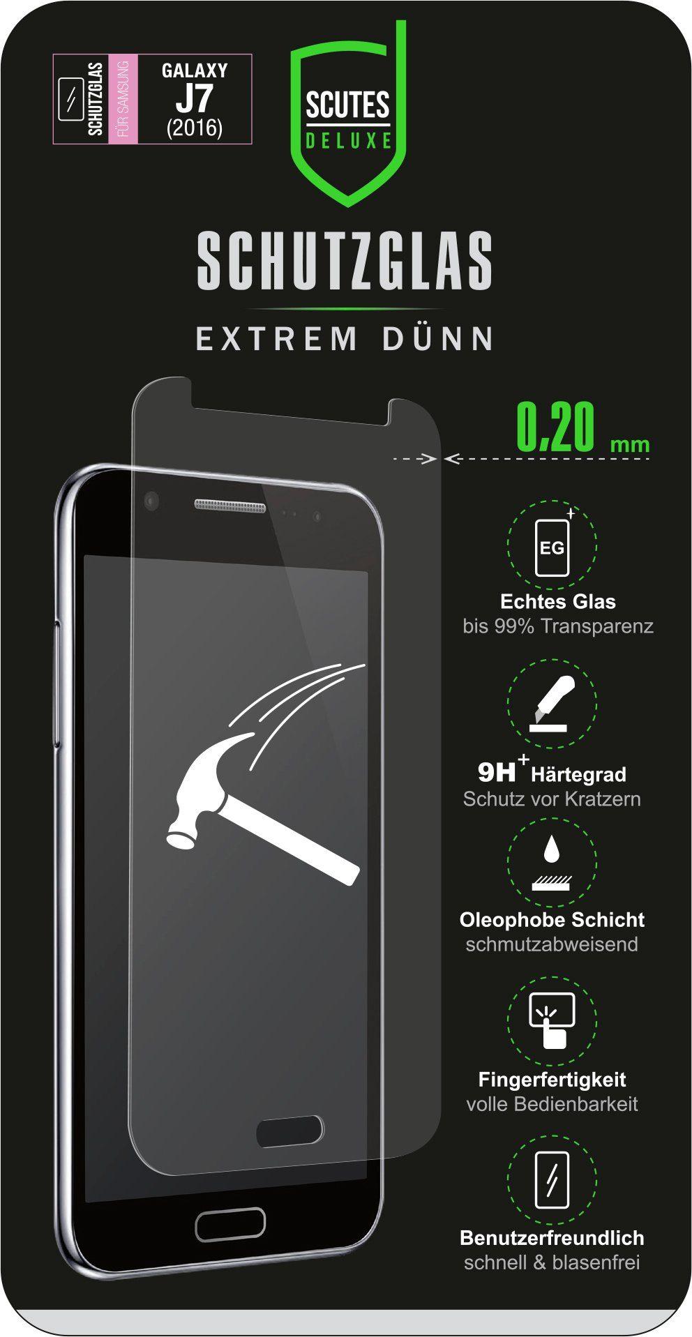 Scutes Deluxe GSM - Zubehör »Schutzglas - Samsung J7«