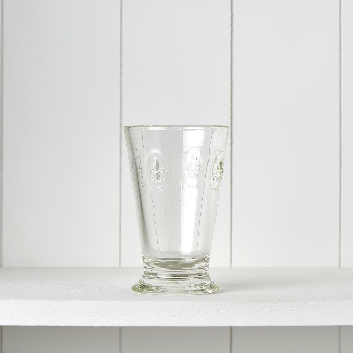 BUTLERS FLEUR »Glas mit Lilienwappen 300ml«