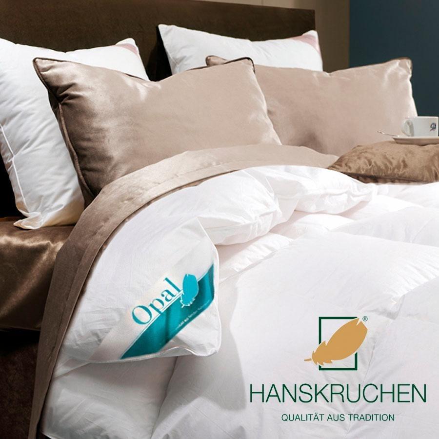 Daunenbettdecke Opal Hanskruchen Warm Fullung 90 Daunen 10 Federn Bezug 100 Baumwolle 1 Tlg Online Kaufen Otto