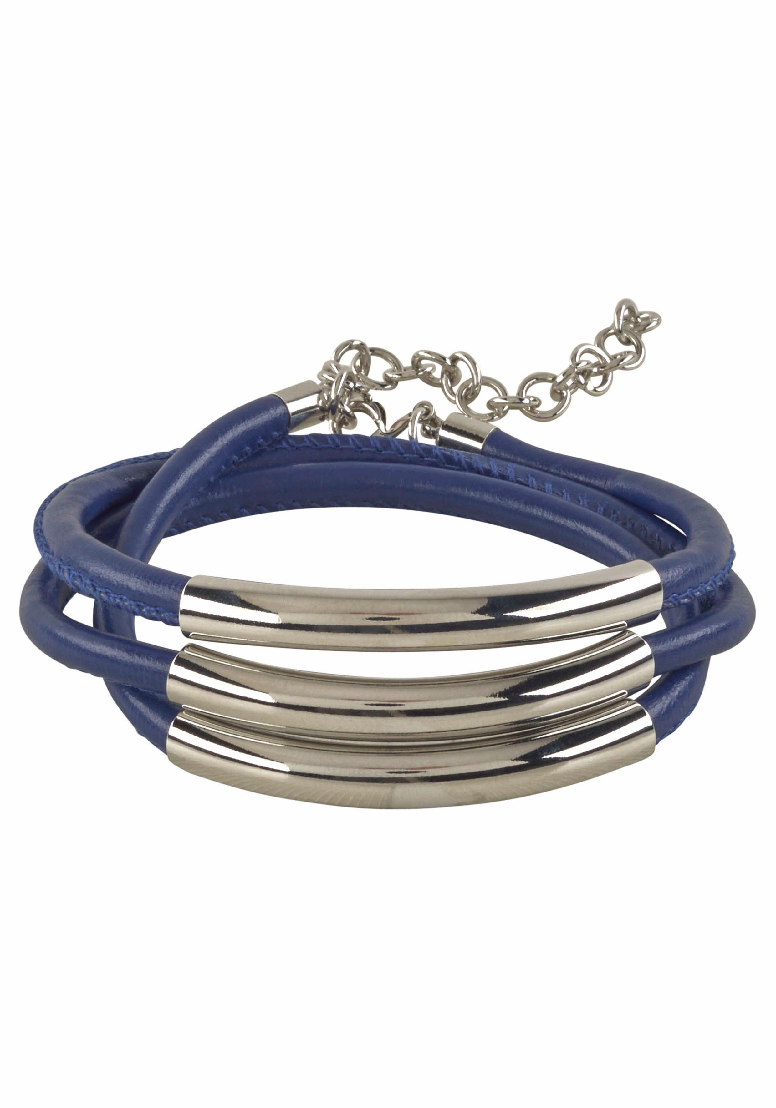 J.Jayz Armband, zum Wickeln, Metallelemente