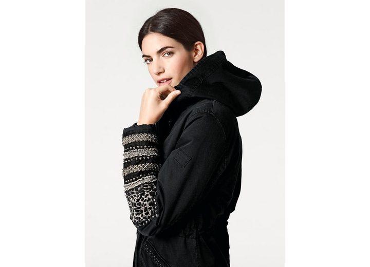 Billig Verkaufen Mode B.C. BEST CONNECTIONS by Heine Parka mit Applikationen Verkauf Hochwertige QwoYWF4