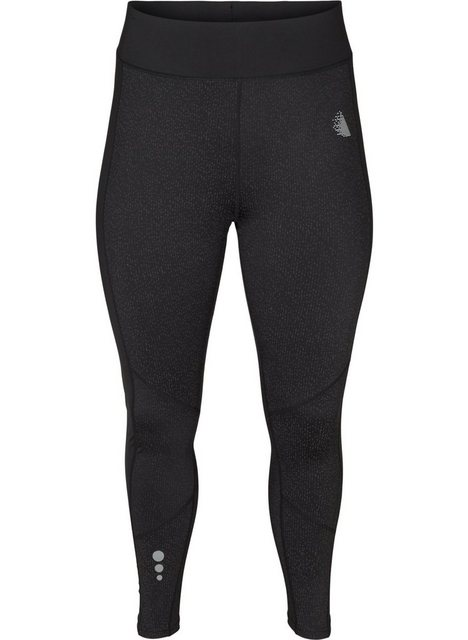 Hosen - Active by ZIZZI Trainingstights Große Größen Damen 7 8 Trainingsleggings mit Reflektorenprint ›  - Onlineshop OTTO