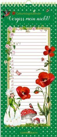Kalender »Immerwährender Geburtstagskalender - Vergiss...«