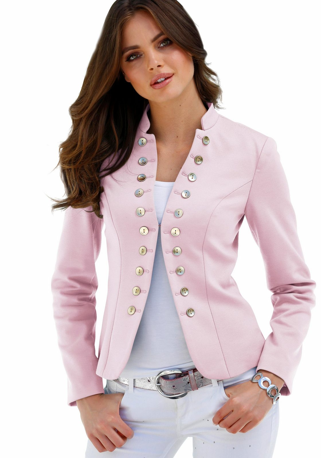Melrose Blazer, im Uniform-Stil
