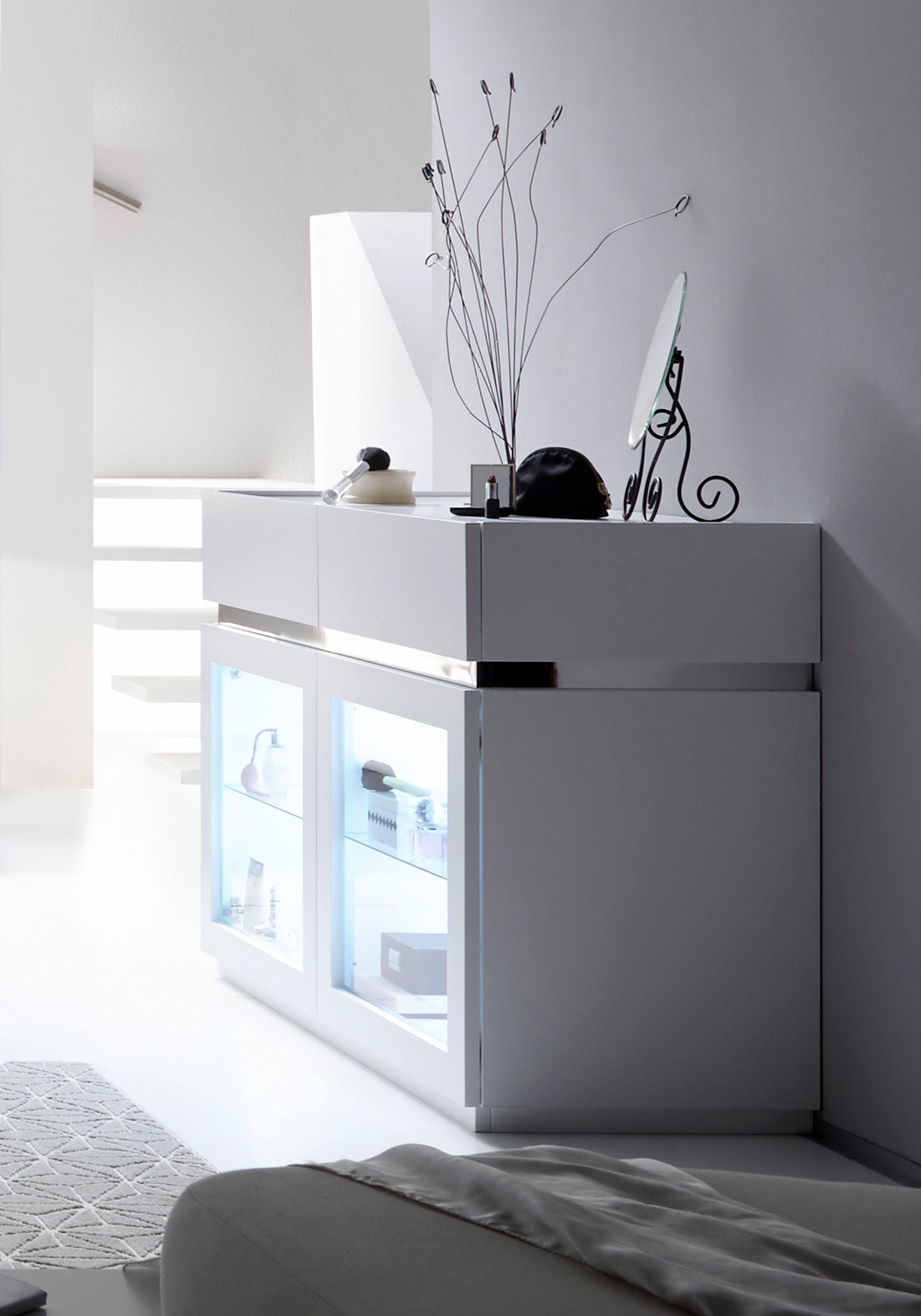 Places of Style Sideboard »Zela Metallic«, Breite 123 cm