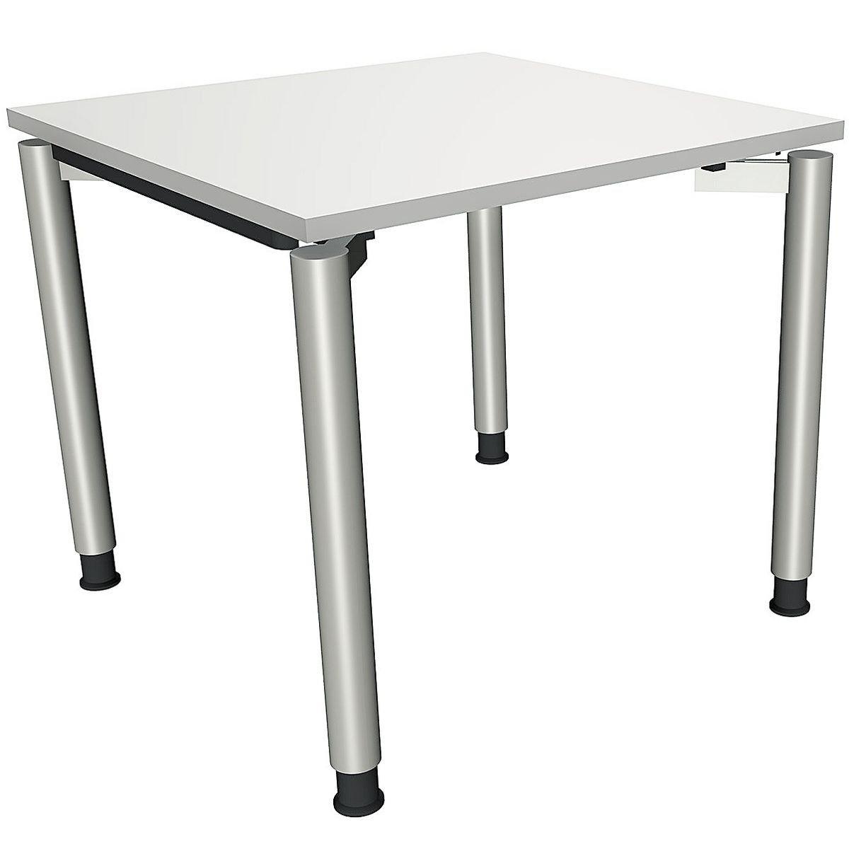 Manuell höhenverstellbarer Schreibtisch 80 cm 4-Fuß... »Sidney«
