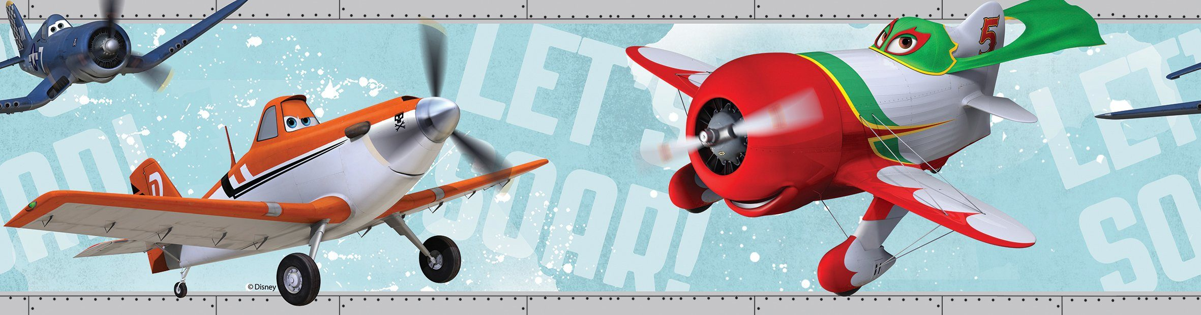 GRAHAM & BROWN Papiertapete »Disney Planes Bordüre«