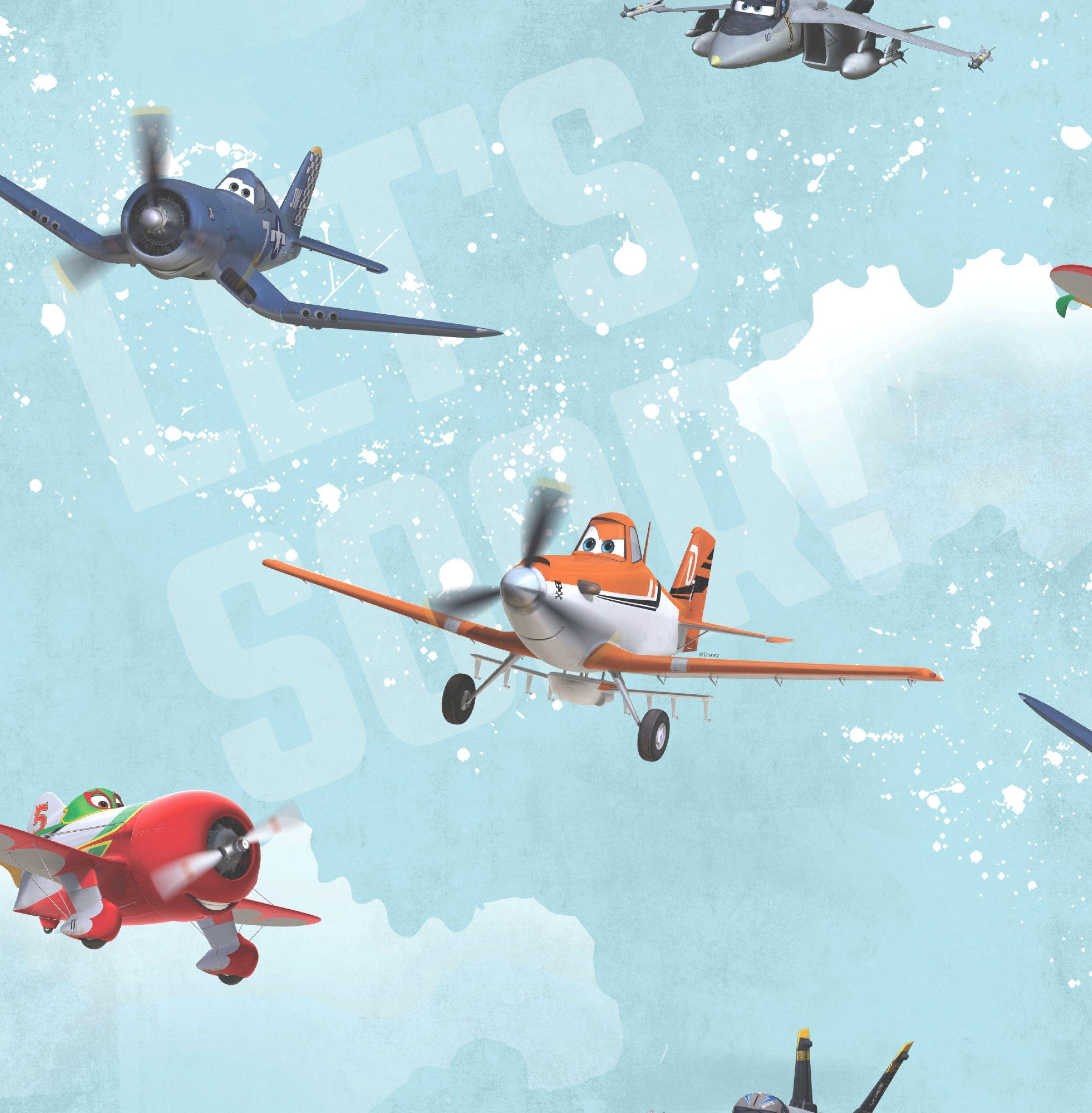 GRAHAM & BROWN Fototapete »Planes Multi Colour«