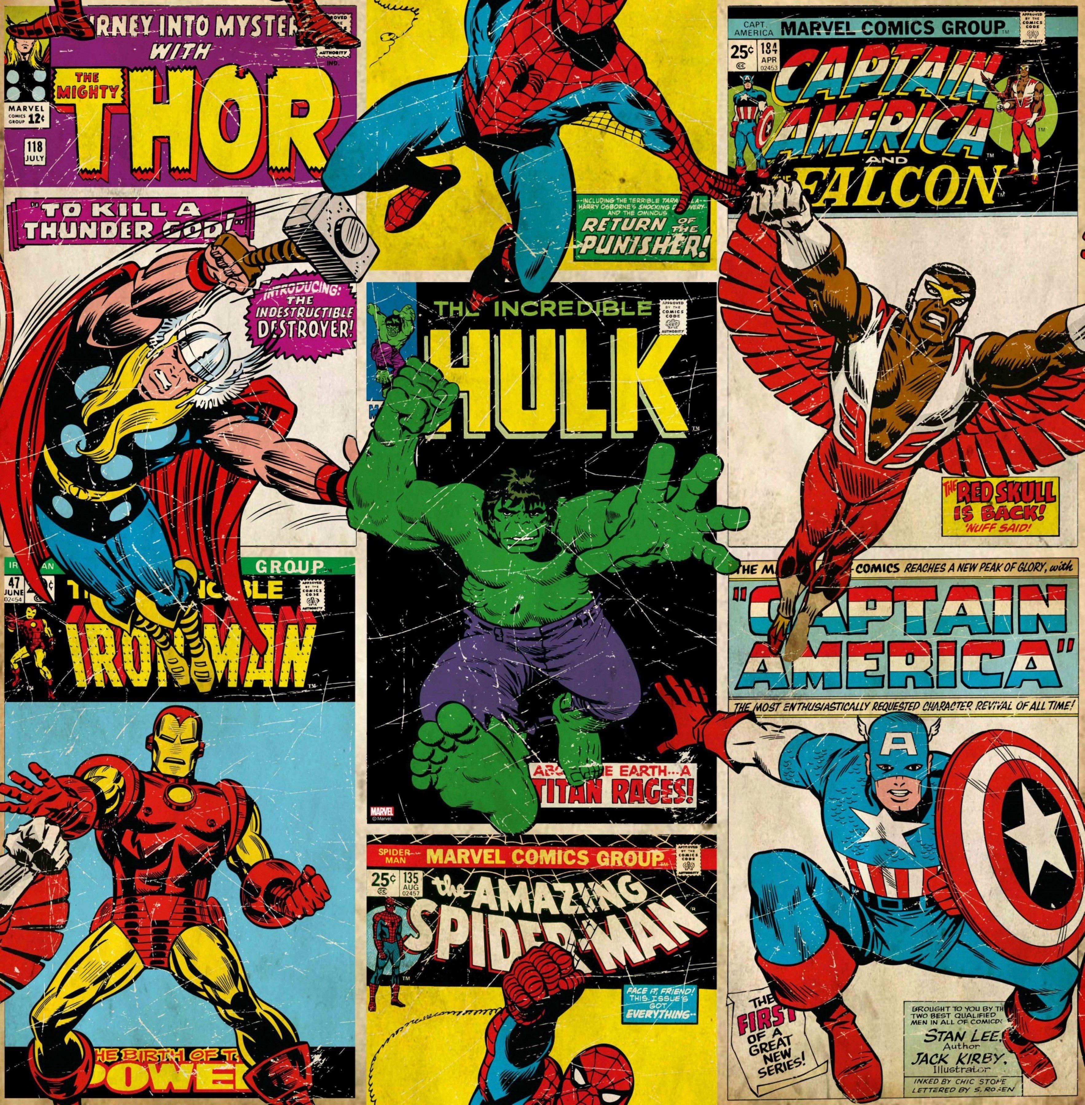 GRAHAM & BROWN Fototapete »Marvel Breakout«