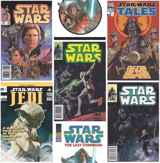 GRAHAM & BROWN Fototapete »Star Wars Poster Fronts«
