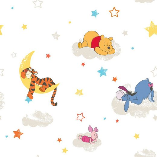 GRAHAM & BROWN Papiertapete »Pooh Rise and Shine«